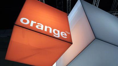 Internetproblemen van de baan bij Orange