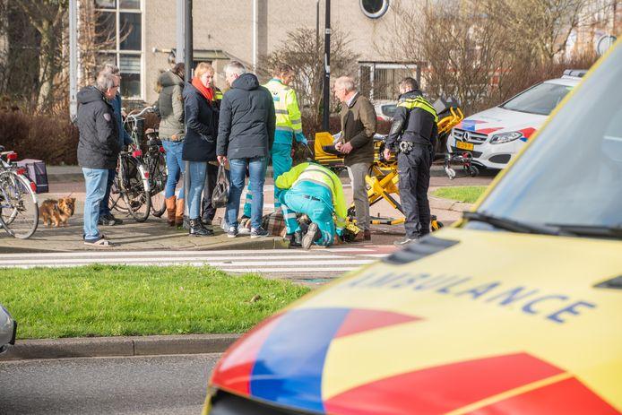 Vandaag is opnieuw een fietser aangereden op de drukke en gevaarlijke oversteek van de Steinhagenseweg en Beneluxlaan.