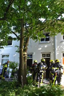 Woningen in hofje ontruimd na brand