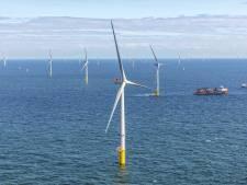 Windparken in zee van Blauwwind brengen nu ook stroom aan wal in Zeeland