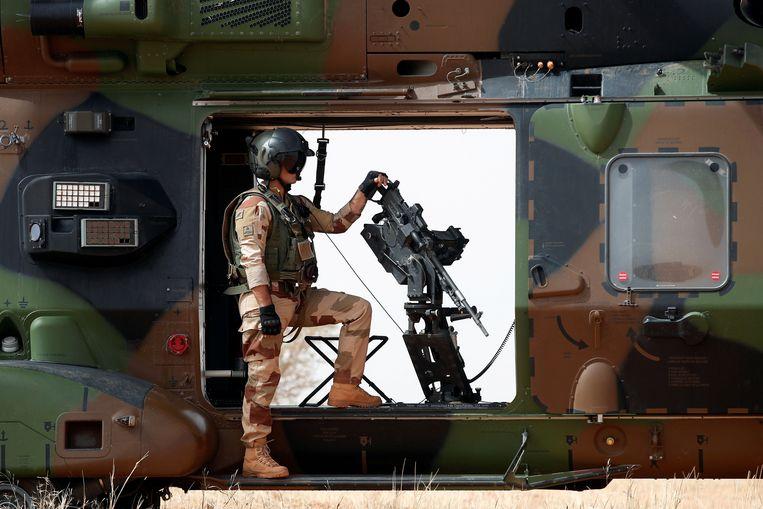 Archiefbeeld - Franse soldaat, Operatie Barkhane