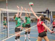 Volleybalsters Bok verliezen ook laatste duel