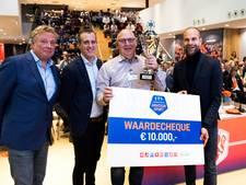Tiny Heijmans van Nooit Gedacht Clubheld van Nederland, Jenny Pals van judoclub Made tweede
