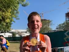 Team NL dolblij: ook Danny uit Spijkenisse pakt goud op Special Olympics