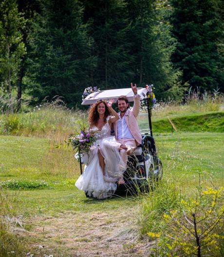 Katja en Freek getrouwd in de Noordoostpolder: 'Hoe mooi is het hier!?'