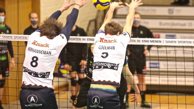 Corona sluipt binnen bij Knack Volley Roeselare
