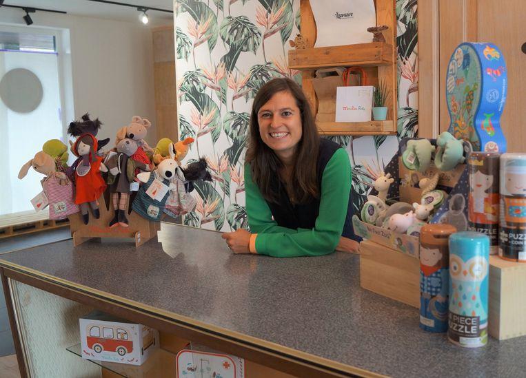 Thessa Huys begint een nieuw hoofdstuk met speelgoedwinkel SPADT.