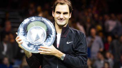 Roger Federer geeft nummer één-positie glans met winst in finale Rotterdam