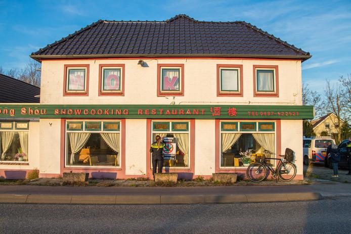 De voormalige wok in Ewijk.
