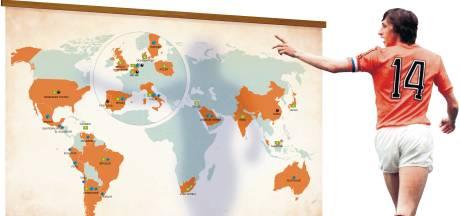 Cruijff leeft over heel de wereld voort