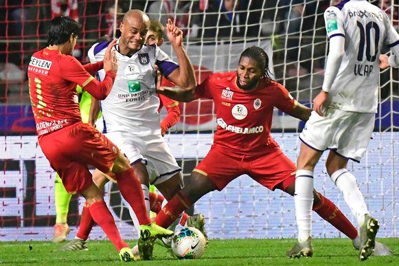 Een beeld uit Antwerp-Anderlecht eerder dit seizoen.