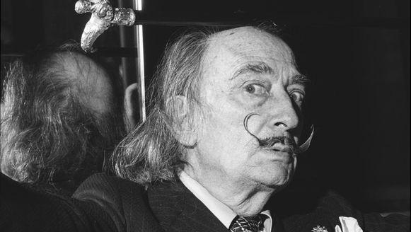 Kunstenaar Salvador Dali.