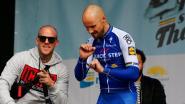 Boonen klopt Sagan in afscheidskoers en geeft op podium demonstratie hakken