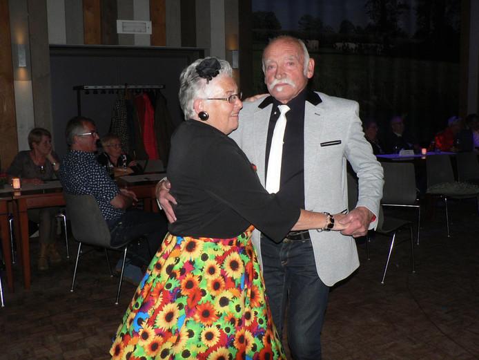 Gerda en Piet van der Logt uit Boekel swingen samen al heel wat jaren.