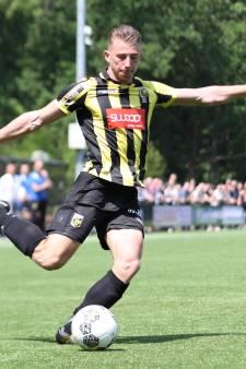 Zware blessure topscorer Jong Vitesse, terugkeer Mats Grotenbreg nabij