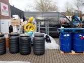 Verdachten drugslab Eindhoven zwijgen in rechtszaak