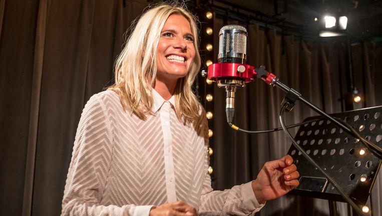 In september kwam Nathalie Meskens langs in de studio van Joe.