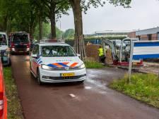 Man gewond na elektrocutie in Roosendaal, slachtoffer wel bij kennis