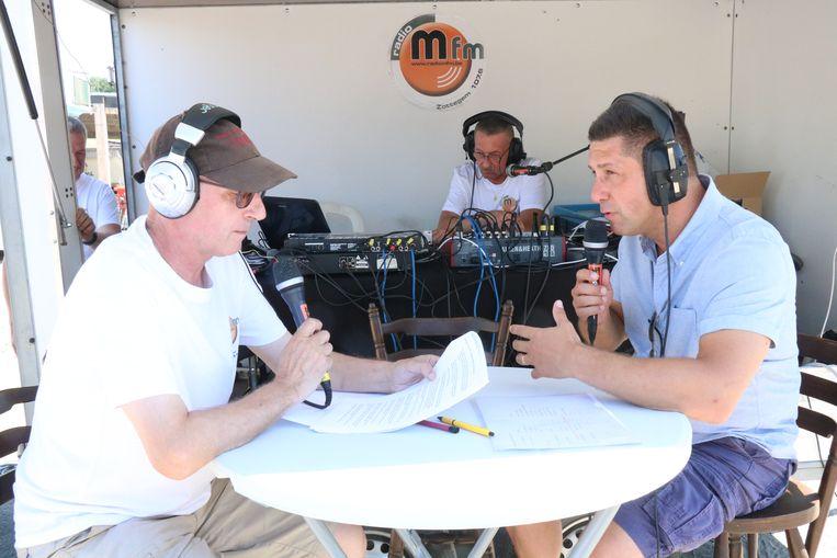 Radio Mfm was vorig jaar ook te gast in Overboelare.