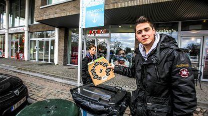 Vuilnisbak alleen voor pizzadozen