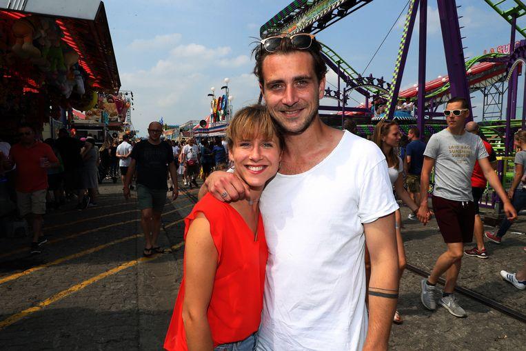 Margot en haar ex-vriend Nick toen ze nog een koppel vormden.
