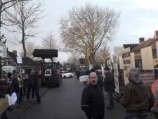 Gemoedelijk protest in Varik adviseert minister: 'Geen geul'