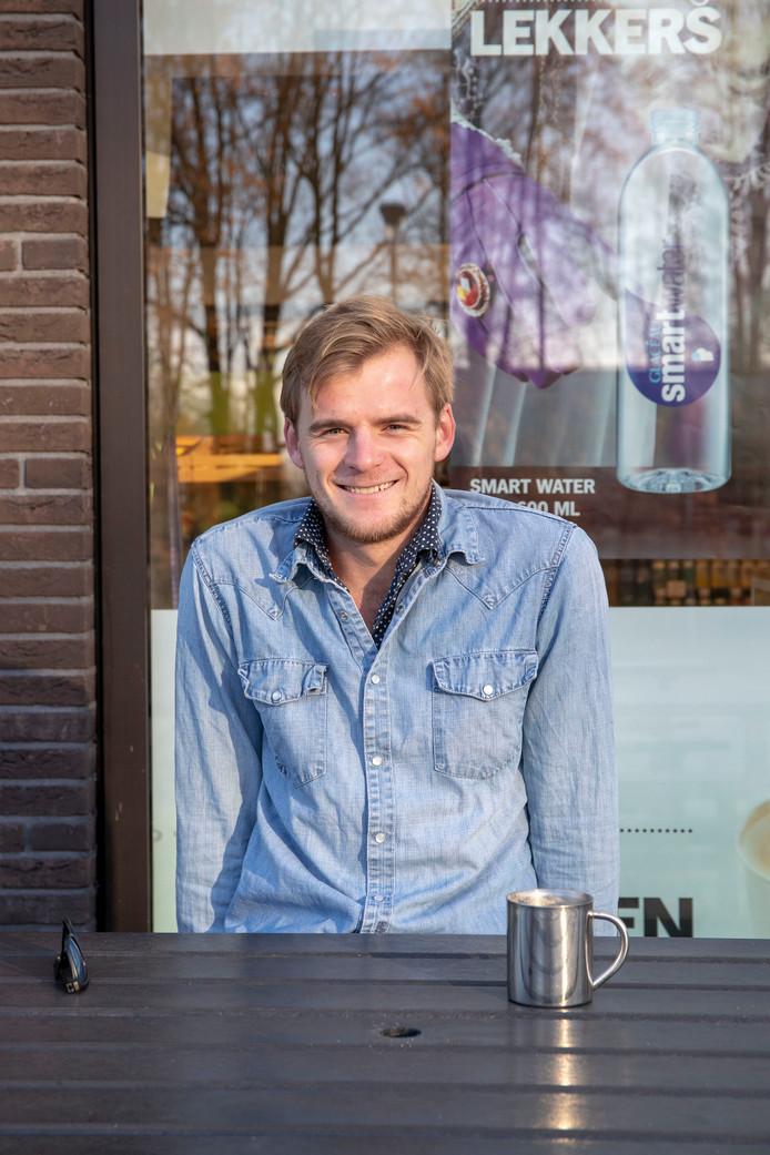 Martijn de Jong op de Wageningen Campus.