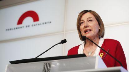 Catalaanse parlementsvoorzitster geen kandidaat meer