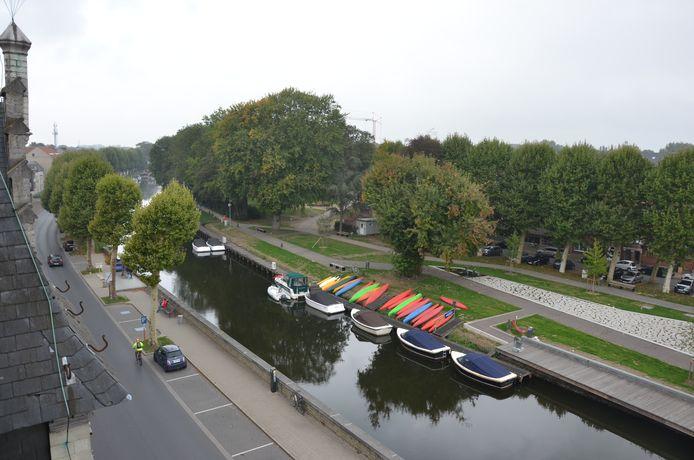 De Durmelaan in Lokeren is een mooi visitekaartje als je de stad binnenrijdt.