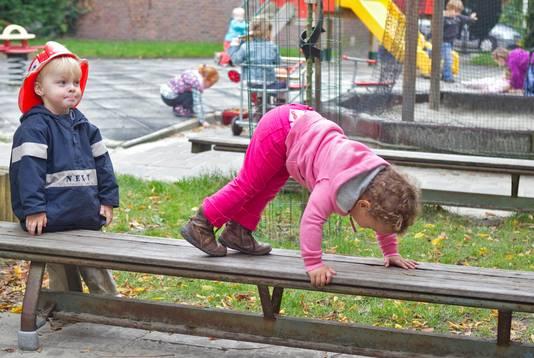 Een kinderdagverblijf in Haarlem, foto ter illustratie.