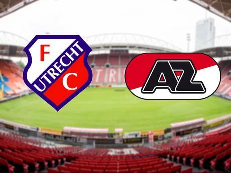 LIVE: FC Utrecht heeft wonder nodig tegen AZ