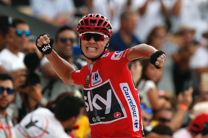 Froome won ook twee ritten.