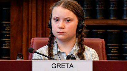 """Greta Thunberg in Rome: """"Neem geen selfies met ons, doe iets aan het klimaat"""""""