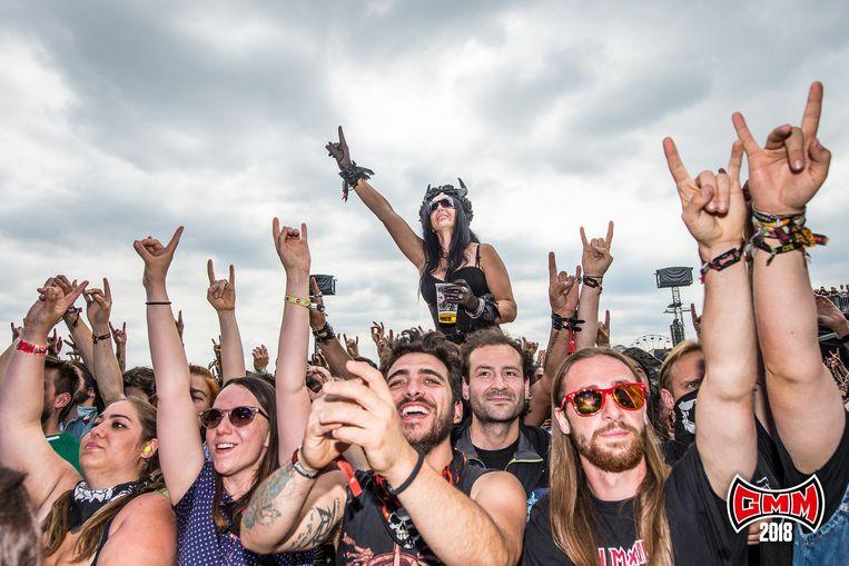 Archiefbeeld: Graspop Metal Meeting.