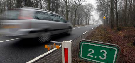 Tientallen hardrijders bij controle tussen Dalfsen en Zwolle