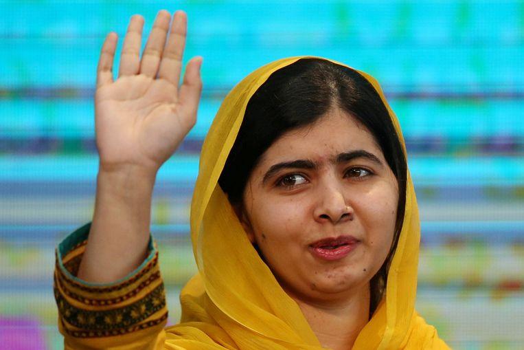Nobelprijswinnares Malala Yousafzai