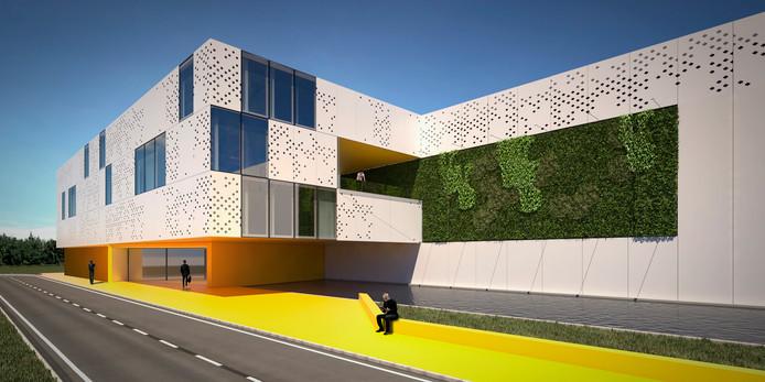 Impressie van een datacenter van The Green Bay. In Borssele komt een groen datacenter van dit bedrijf. De eerste grote klant wordt de Chinese techreus Huawei