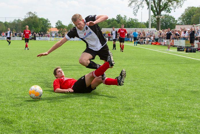 MVV'29 en De Tukkers troffen elkaar afgelopen seizoen in de nacompetitie. De Tukkers won waardoor MVV degradeerde.