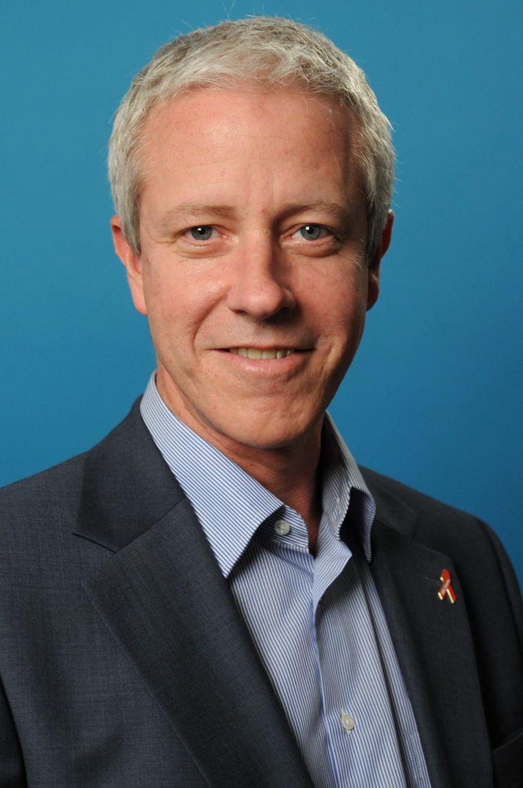 Craig McClure, hoofd Hiv/Aids bij Unicef Beeld null