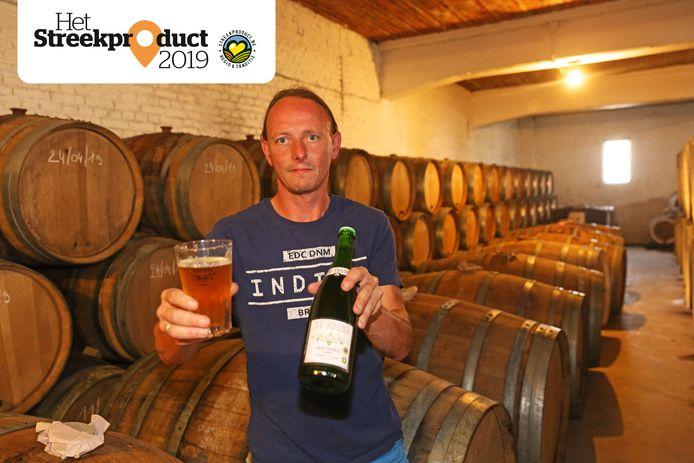 Pauwel Raes is al de de zevende generatie binnen familiebrouwerij De Troch.