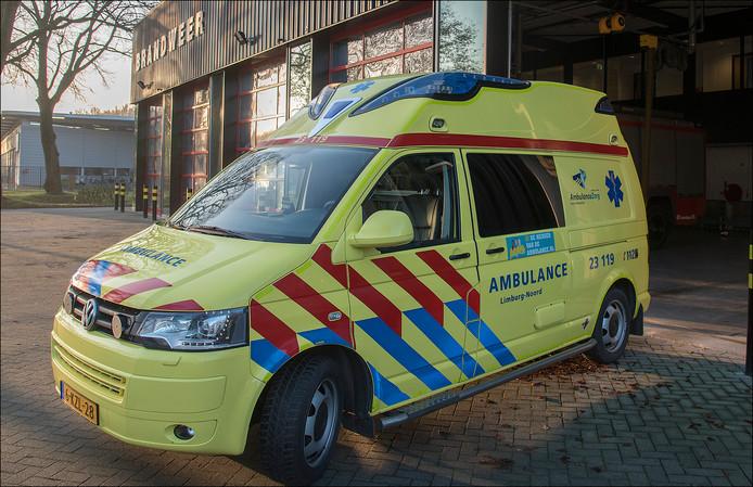 De tijdelijke ambulancepost bij de brandweerkazerne in Gennep bestaat sinds 1 augustus niet meer.