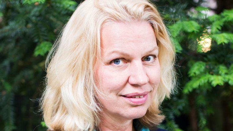 Annejet van der Zijl: 'Ik ben deze stad enorm schatplichtig' Beeld Eva Plevier