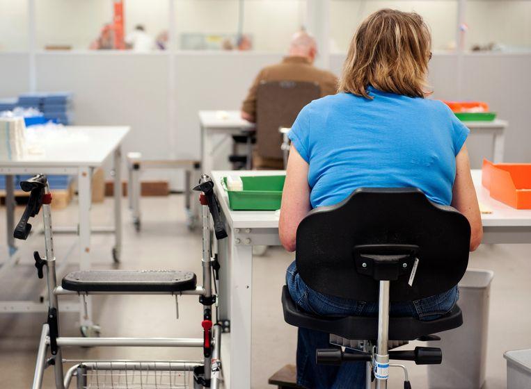 Sociale werkplaatsen mogen sinds 2015 geen nieuw personeel aannemen. Beeld ANP