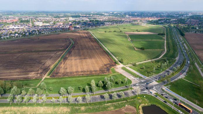 Nieuwbouwwijk De Tippe, uitbreiding van de wijk Stadshagen tussen de provinciale Hasselterweg (N331) en de spoorlijn Zwolle-Kampen.