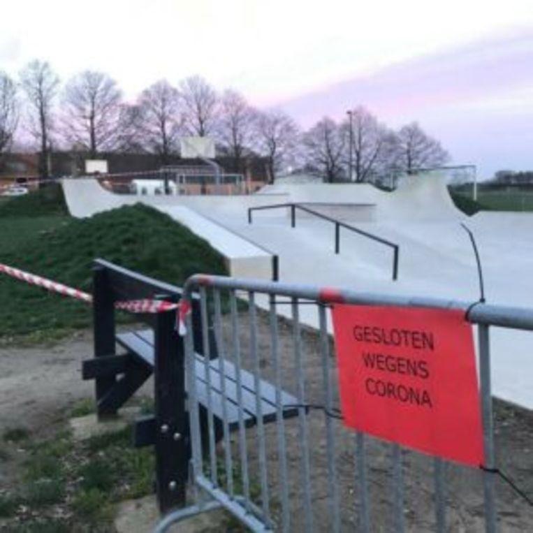 Het Herenthoutse skatepark zal nog zeker tot na dit weekend dicht blijven