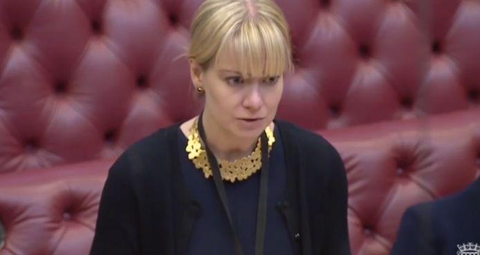 Nicola Blackwoo, la ministre britannique de la Santé et des Affaires sociales.