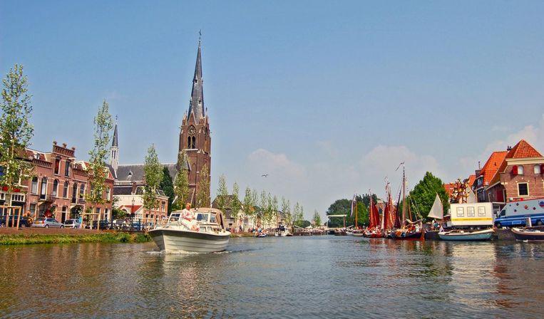 Lekker met een bootje varen kan uitstekend in Weesp. Beeld Weesp Marketing