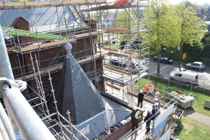 De Maria Boodschapkerk in Goirle is recent nog gerestaureerd.