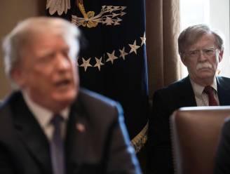 "Voormalig veiligheidsadviseur Bolton noemt Trump ""de slechtste Amerikaanse president ooit"""