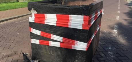 Geen verdachten bij Hankse plantenbakkenpyromanie